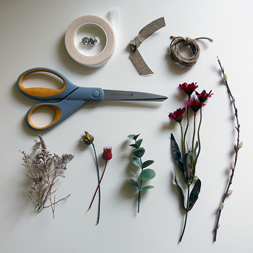boutonniere ingredients
