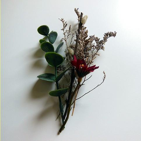 arrange floral elements